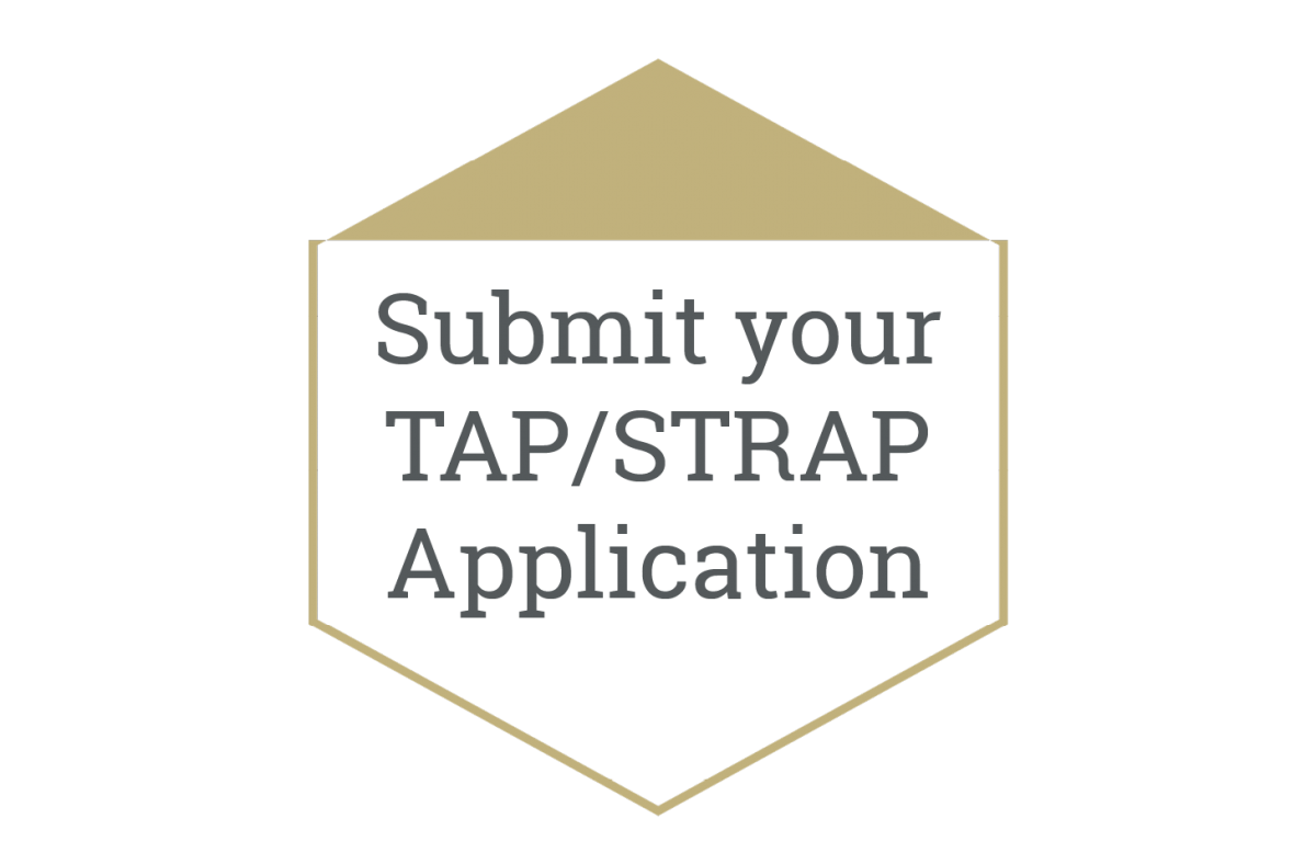 Submit your Tap/STRAP application