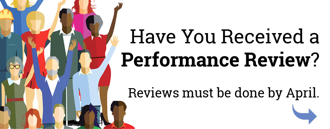 Have you had your performance review yet?