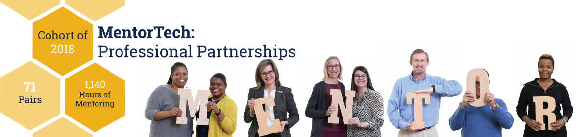 MentorTech: Professional Partnerships beginning February 2018 with applications due Jan. 17.