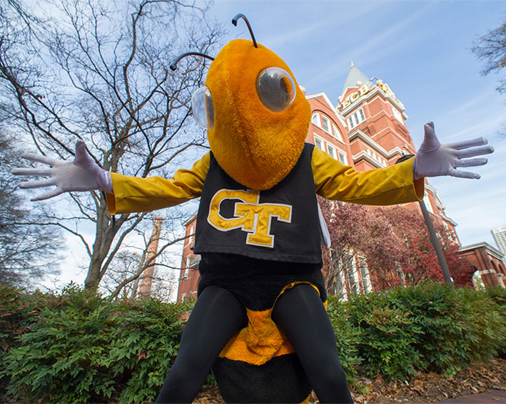 Georgia Tech's Mascot Buzz Bee